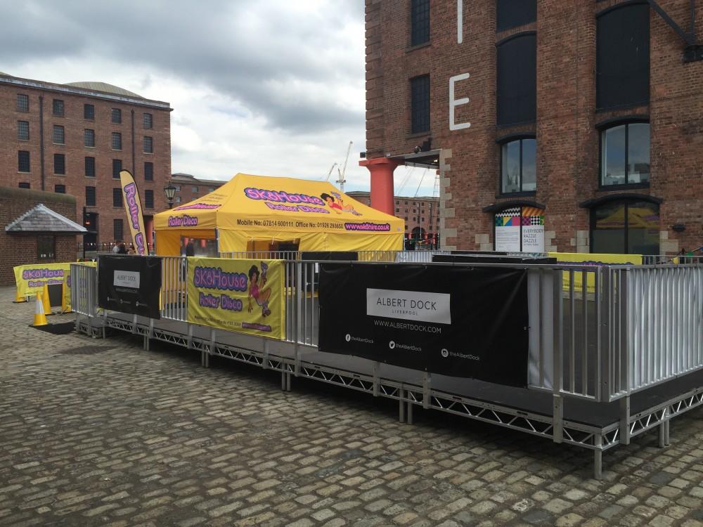 Albert Docks, Liverpool - Sk8hire